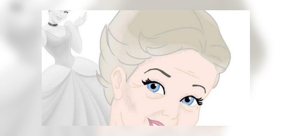FOTOD: Vinge! Kui vanad oleksid Disney printsessid täna ja millised nad välja näeksid?