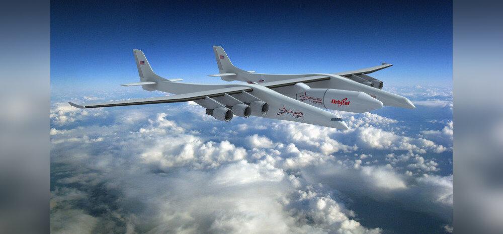 Stratolaunch - see on nüüd tõesti maailma kõige suurem lennuk