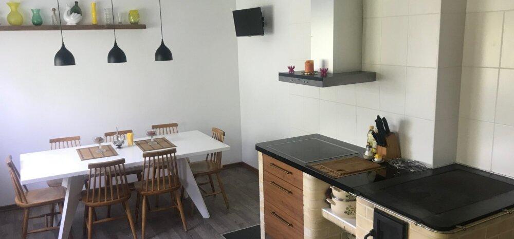 """""""MEIE KODU 2018""""   Oma kätega ehitatud maalähedane köök Põlvas"""