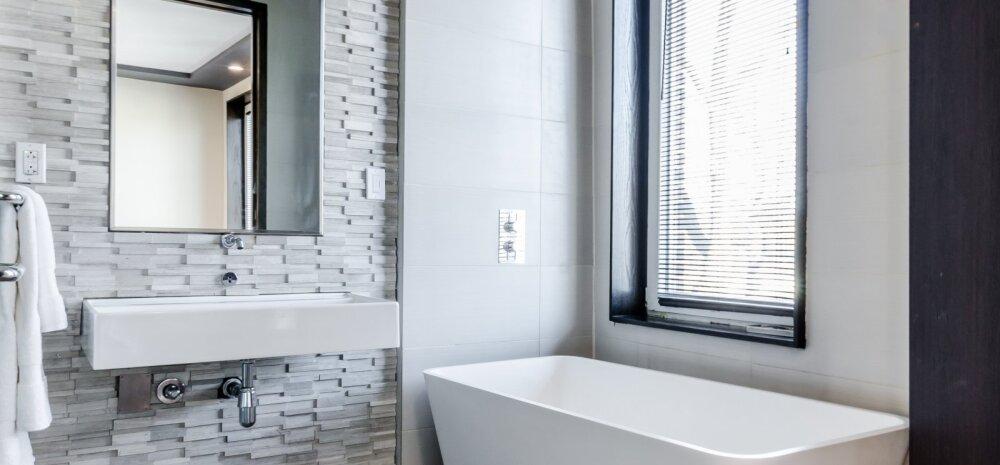 Viis olulist sammu vannitoa remondi planeerimisel