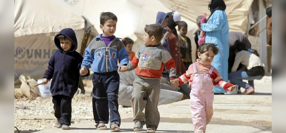ÜRO: miljon väikest süürlasest põgenikku