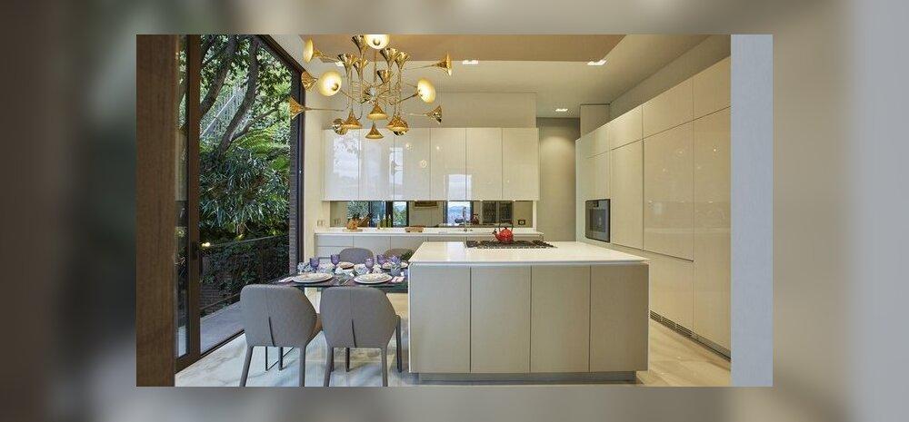 12 ideed kaasaegse köögi valgustamiseks