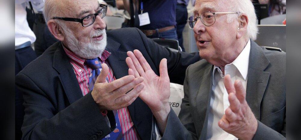 Omanimelise bosoni ennustamine tõi Nobeli füüsikapreemia Englertile ja Higgsile
