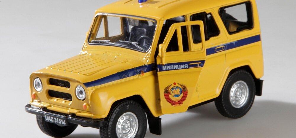 Miilitsaauto,mudel, UAZ