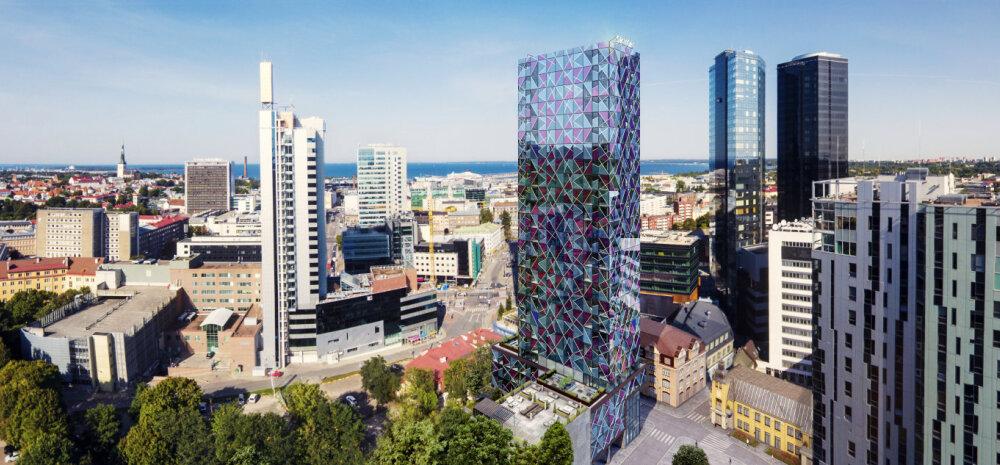 ФОТО │ В ближайшее время начнется строительство 26-этажного небоскреба Skyon