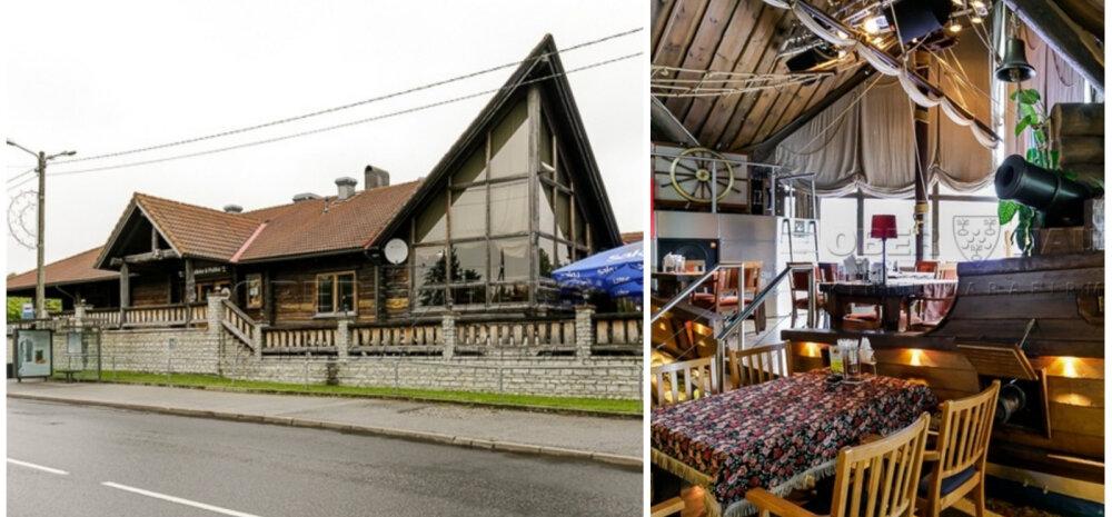 ФОТО │ Ресторан-корабль на продажу! Знаменитый Talleke ja Pullike с уникальной обстановкой в поиске владельца