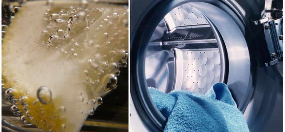 СОВЕТЫ │ Как очистить стиральную машину лимонной кислотой