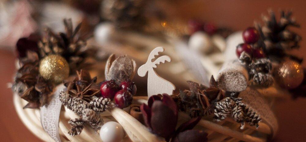 Näpud tööle: viis nippi jõulumeeleolu loomiseks