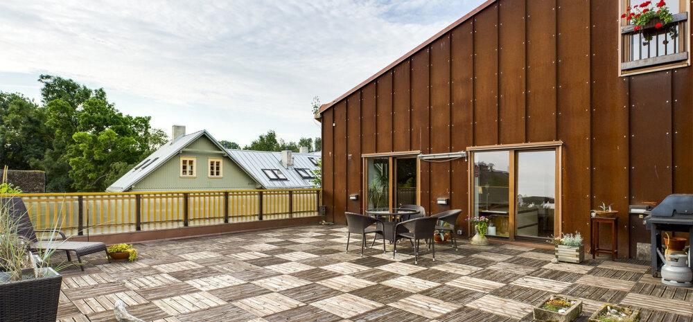 Vaata ägedaid katuseterrassiga kortereid, mis uut omanikku otsivad