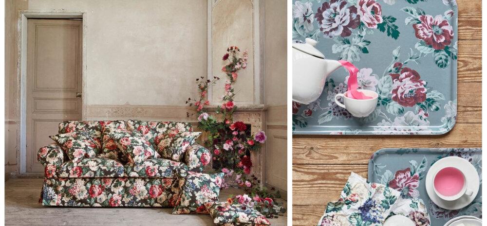 ФОТО│ Осенняя коллекция мебели и аксессуаров IKEA утопает в цветах