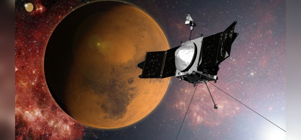 NASA kosmoseaparaat Maven jõudis ligi aasta kestnud reisi järel Marsi orbiidile