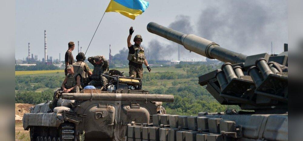 KAART: Ukraina armee rühib Luganski poole