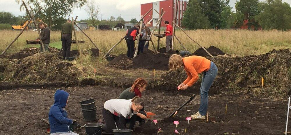 FOTO ja KAART: Rail Balticu trassi lähedalt leiti kiviaegne asulakoht