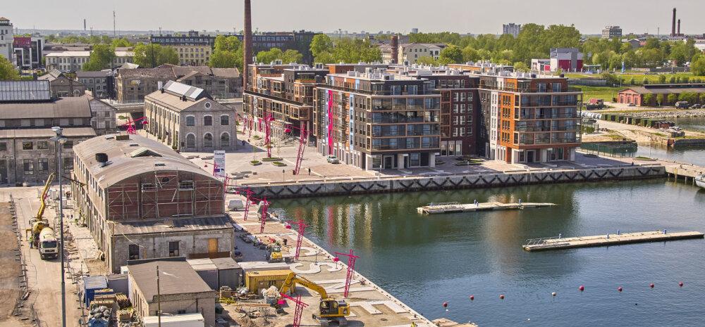 ФОТО │ Новый этап развития портового городка Ноблесснера: построят коммерческие площади и 330 квартир