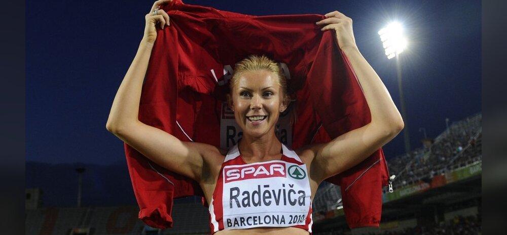 Läti parimaks naissportlaseks valiti kergejõustiku kaunitar