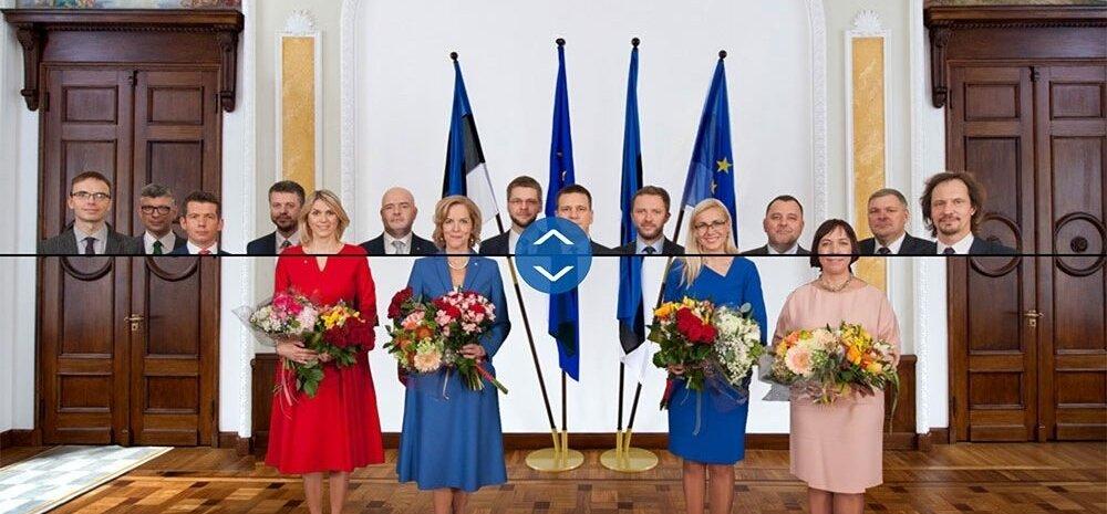 Uus valitsus, naised-mehed