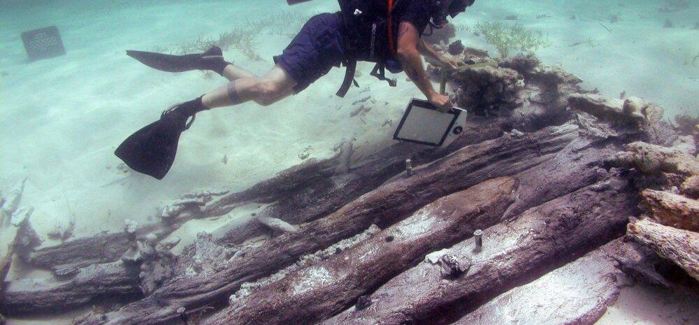 Uppunud laevade puit näitab, miks Kariibi mere piraatluse kuldajastu üldse võimalik oli