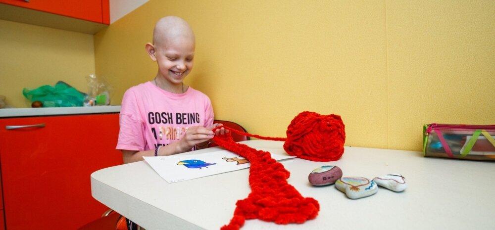 Tallinna Lastehaigla, Vähihaige laps, onkoloogia, loovteraapia