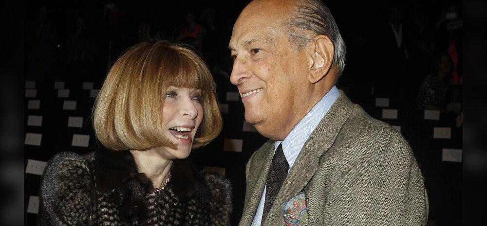 Anna Whintour ja Oscar de la Renta