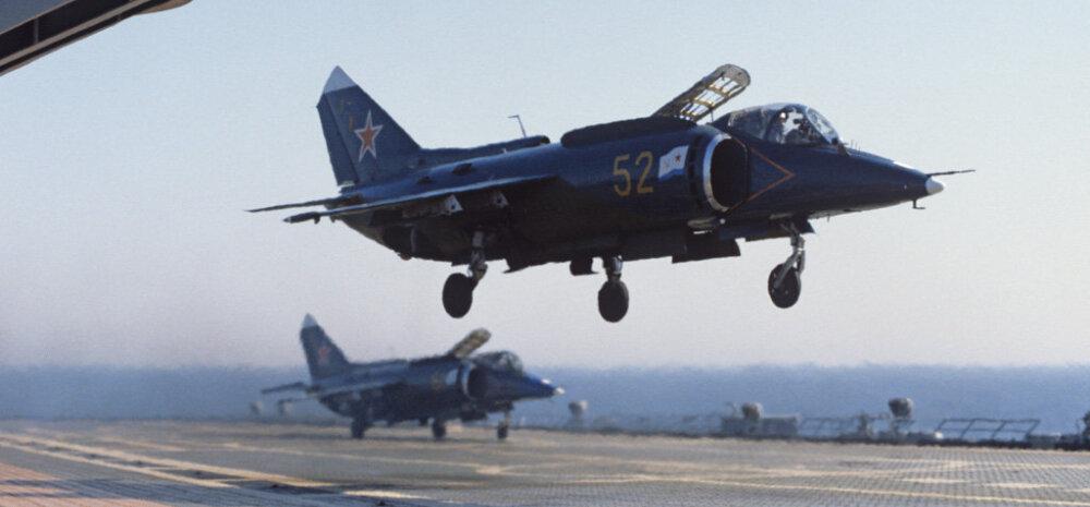 Miks venelastel ei ole ühtki vertikaalselt õhku tõusvat hävitajat?
