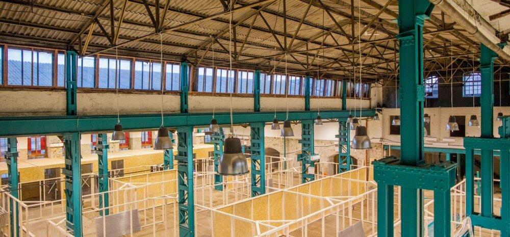 Balti jaama turg kolib ajutiselt uuele kauplemispinnale