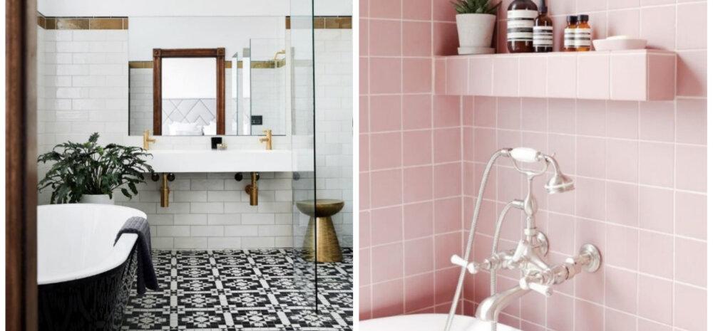 Модная в 2019 году ванная: 6 приемов в дизайне