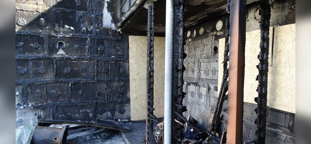 ФОТО | Выброшенный в мусорный бак пепел от костра обошелся домовладельцу почти в 20 000 евро