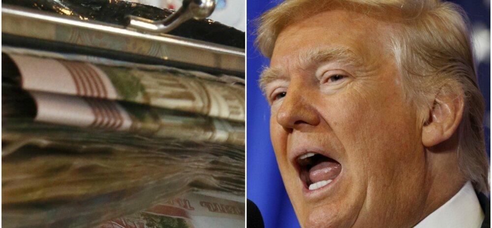 Päästsid kollapsist? Trumpi Venemaa-armastusel võib olla selge põhjus