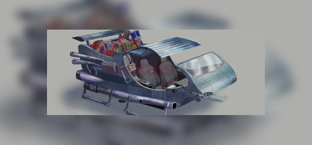 Viimane sõna: turbokiirendusega jõuluvanasaan on varustatud porgandiheitjatega