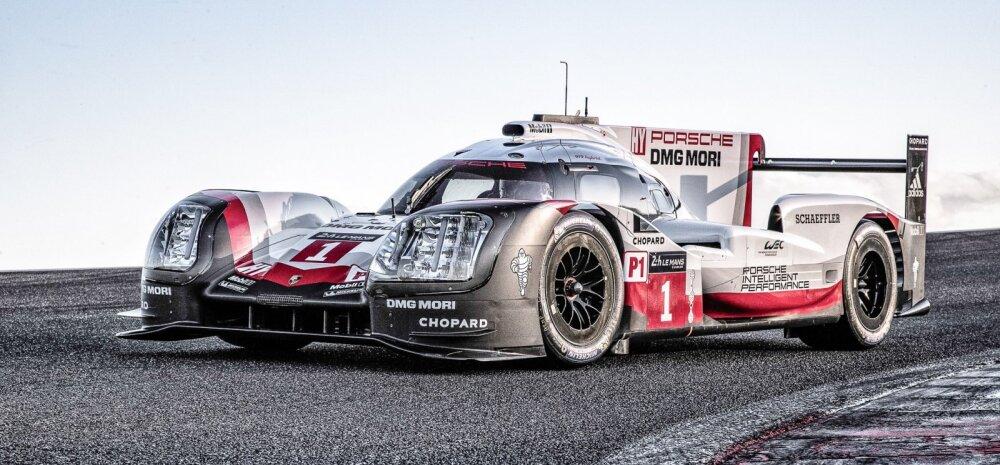 Võimas auto: Porsche 919 Hybrid pürgib Le Mans' 24 tunni sõidu ja WEC'i võitjaks