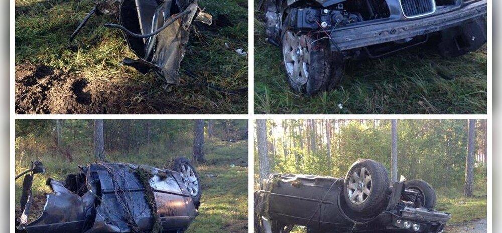 FOTOD ja VIDEOD SÜNDMUSKOHALT: Kuusalu vallas hukkus roolijoodiku juhitud autos kaasreisijana sõitnud noor mees