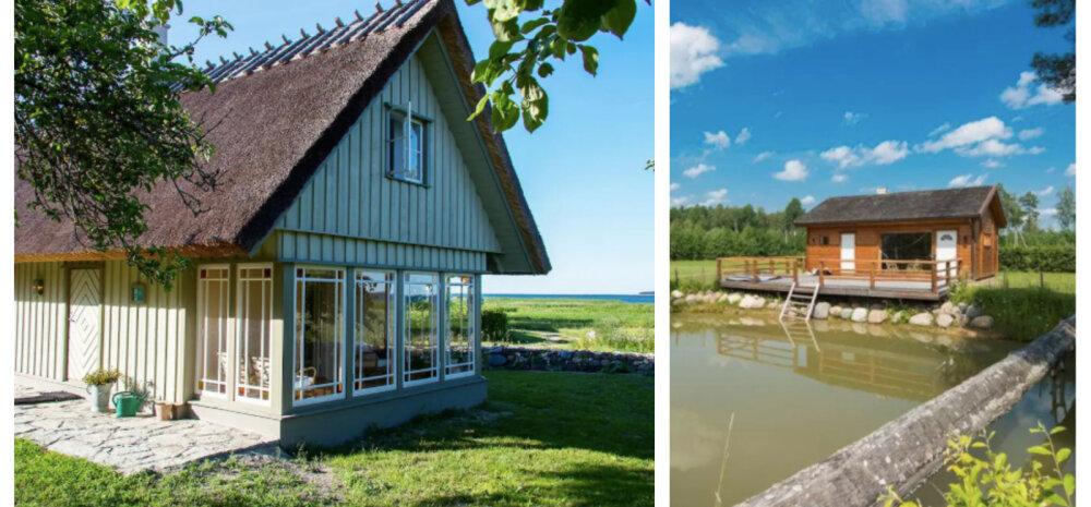 Suvekodu pole, aga tahaks loodusesse? Vaata kõige lahedamaid maju, mida saab lühikeseks ajaks üürile võtta!