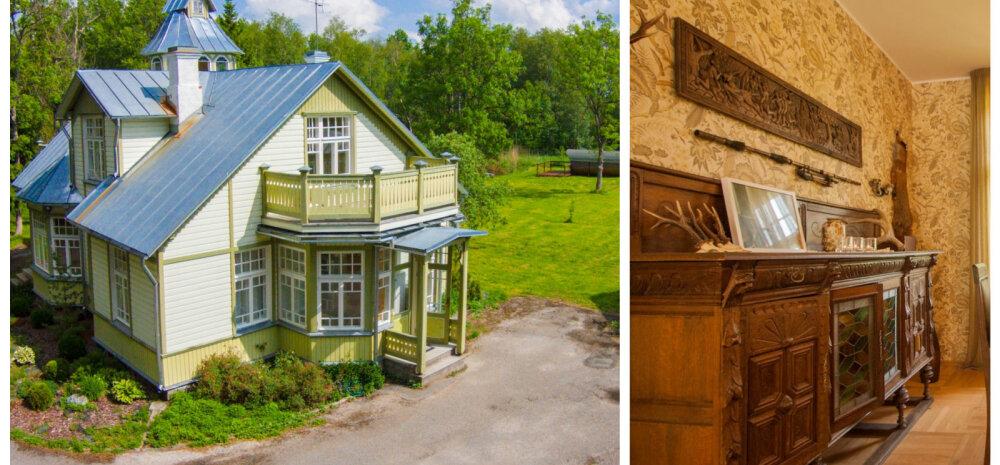 ФОТО│Настоящий замок в Эстонии — пожить на выходных и приобрести!