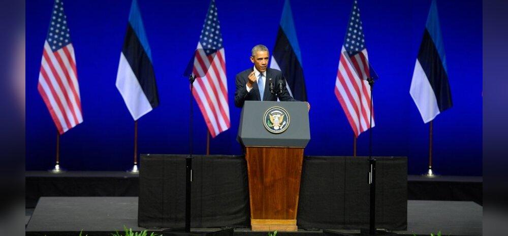 TÄISMAHUS: Loe Barack Obama Tallinnas peetud kõnet täispikkuses!