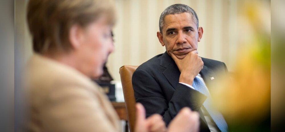 Obama ja Merkel hoiatasid Kremli sekkumast