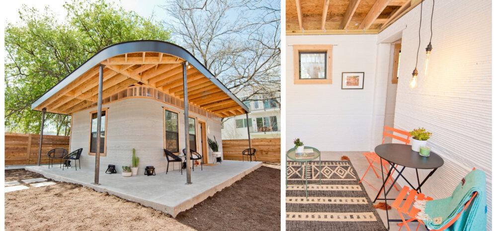 FOTOD │ 3D-prinditud maja, mille hind jääb alla 3500 euro, lubab lahendada eluasemeprobleemid kõikjal maailmas