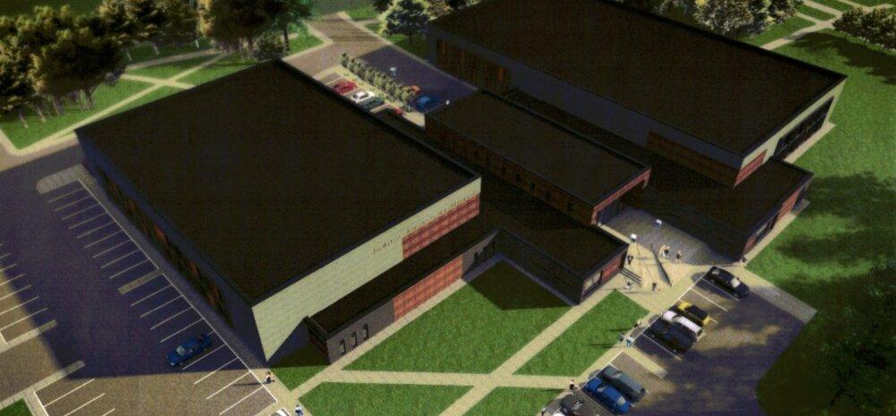 Бассейн, аэробика и теннис: спортивно-оздоровительному центру в Кохтла-Ярве быть!