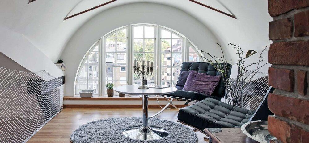 FOTOD | Võluv katusekorter kahel tasapinnal