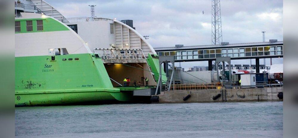 Tallinki laev Helsingi sadamas