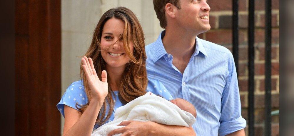 Kate Middleton ja prints William Suurbritannia troonipärijaga