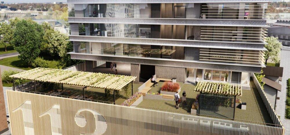 Tallinna kesklinna kerkib esimene rohekõrghoone