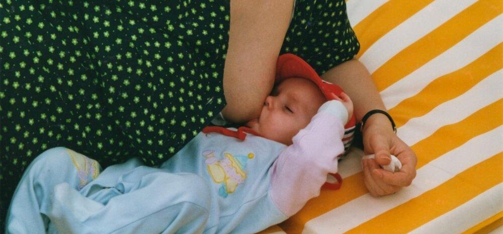 Põhjalik uuring rinnaga toitmise kohta: rohkem emapiima päästaks aastas 820 000 elu