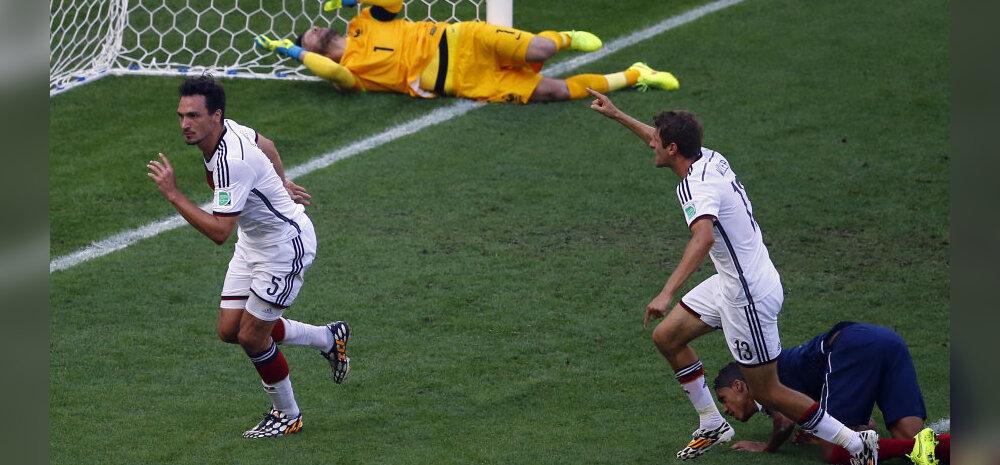 Mats Hummels lööb 1:0