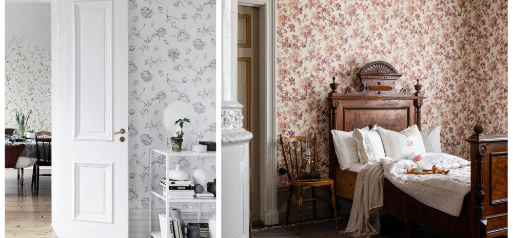 ФОТО | По-весеннему нежные обои с цветочными мотивами помогут оживить любой интерьер