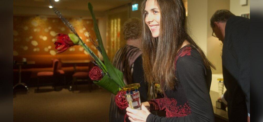 ФОТО: Ирина Эмбрих и Николай Новоселов - лучшие фехтовальщики года