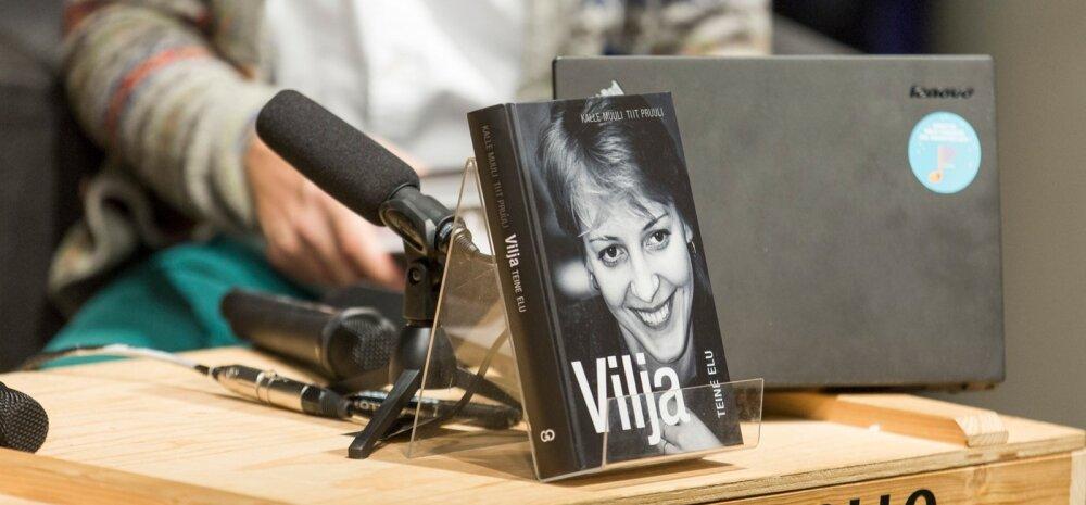 Vilja Savisaar-Toomast esitles oma uut raamatut, Vilja teine elu