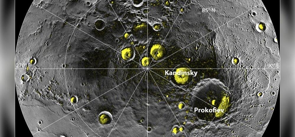 NASA kinnitab: Merkuurilt leiti jääd ja orgaanilist ainet