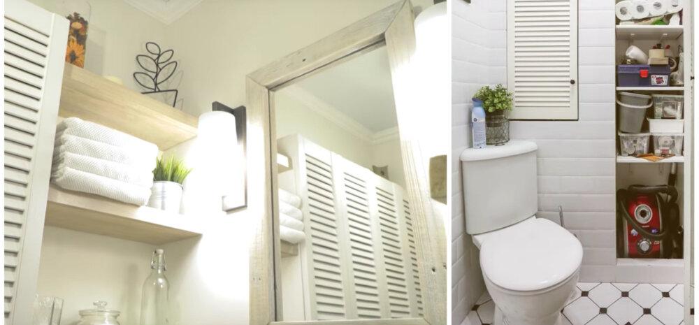ВИДЕО | Гениальные идеи для хранения в маленькой ванной