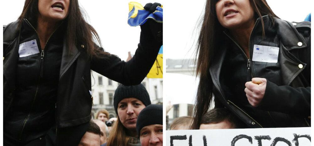 Eurovisiooni võitnud lauljanna Ruslana tuleb Arvamusfestivalile Ukraina poliitikast rääkima