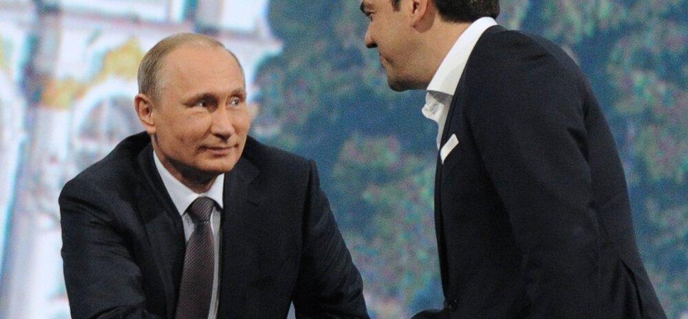 Putin: kreeklased ei ole Venemaalt abi palunud